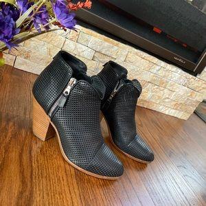 Rag and Bone Italian Black Leather Booties